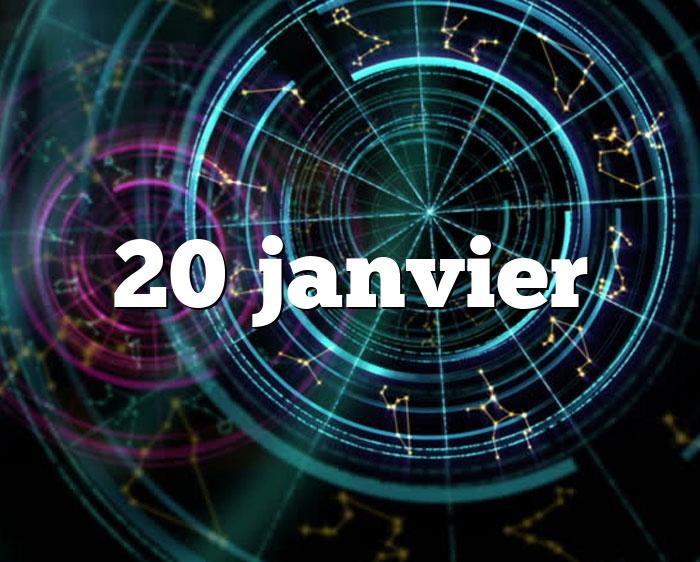 20 janvier