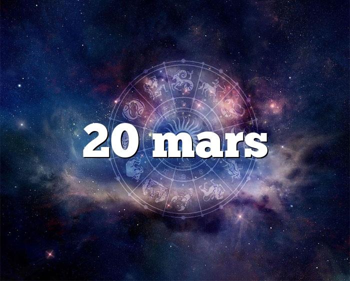 20 mars