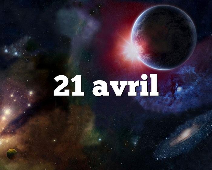 21 avril