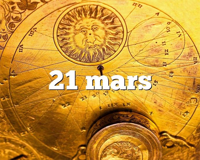 21 mars