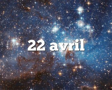 22 avril