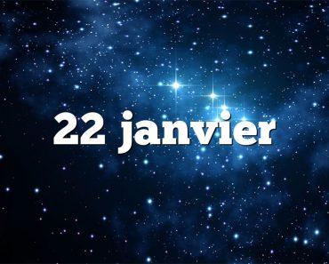 22 janvier