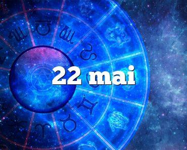 22 mai