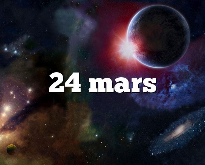 24 mars