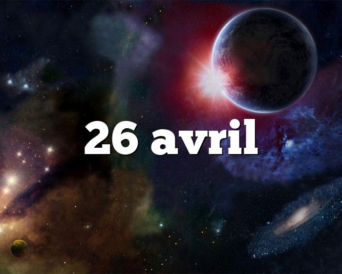 26 avril