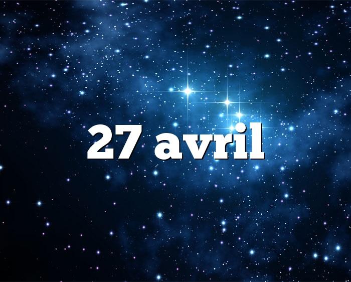 27 avril