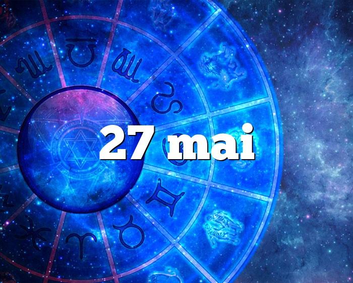 27 mai