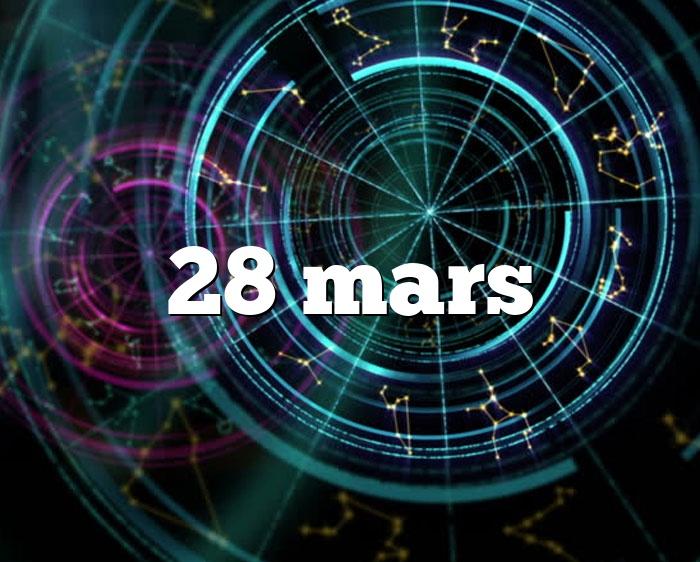 28 mars