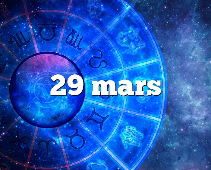 29 mars