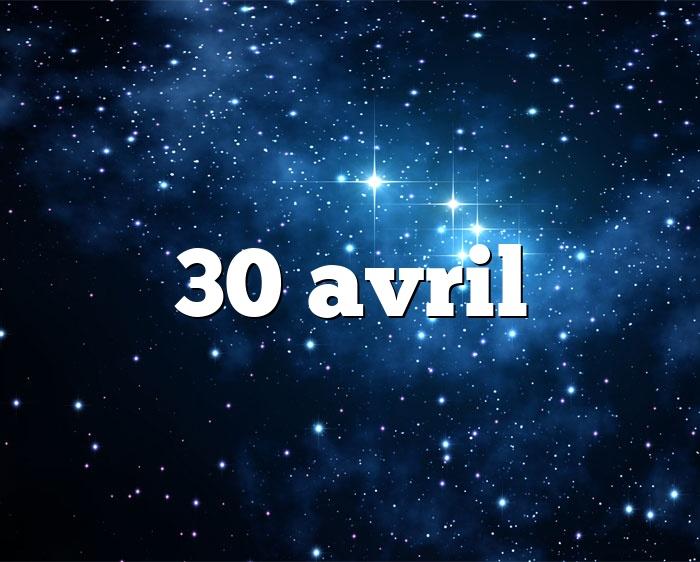 30 avril