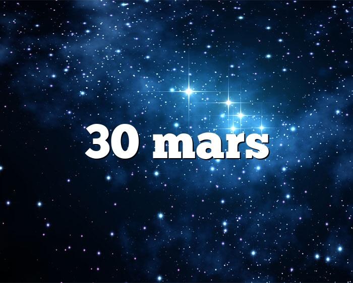30 mars