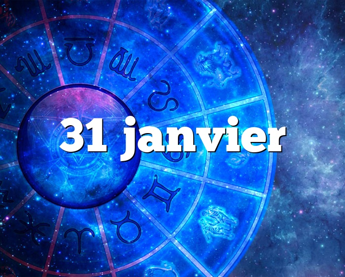 31 janvier