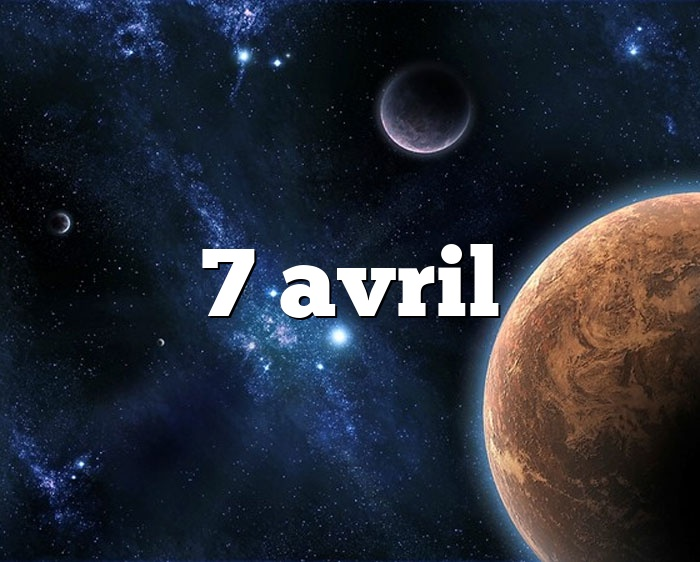 7 avril
