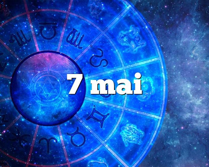 7 mai