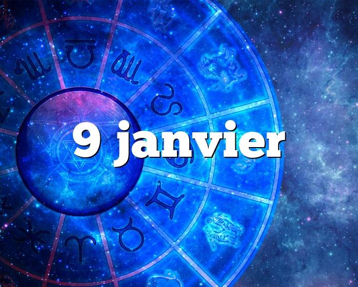 9 janvier