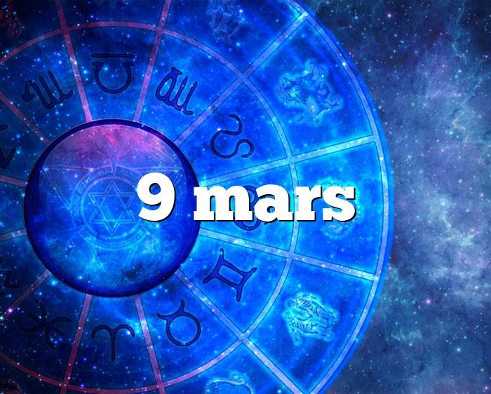 9 mars