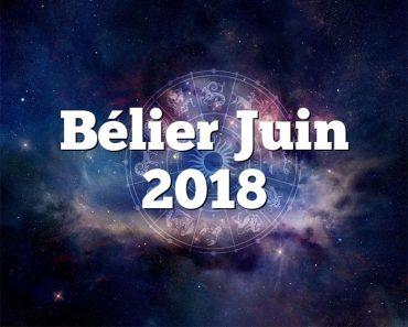 Bélier Juin 2018