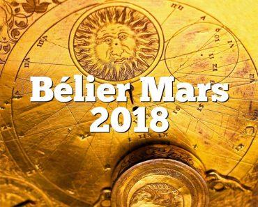 Bélier Mars 2018