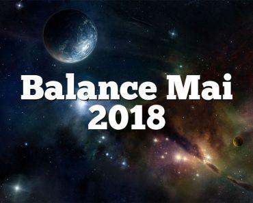 Balance Mai 2018