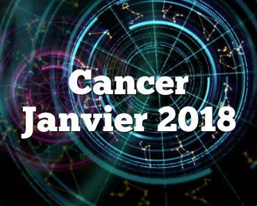 Cancer Janvier 2018