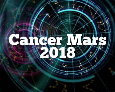 Cancer Mars 2018