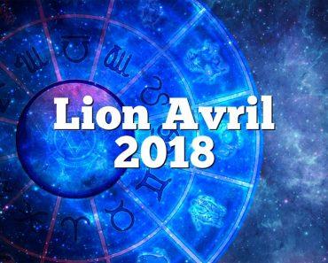 Lion Avril 2018