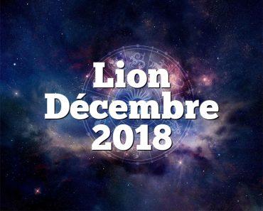 Lion Décembre 2018
