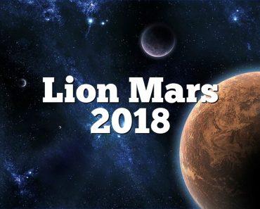 Lion Mars 2018