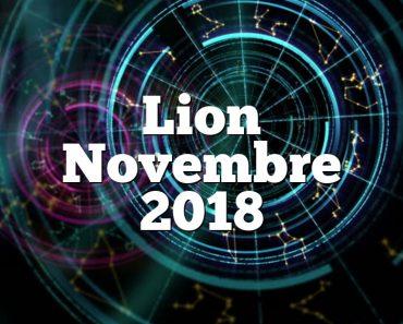 Lion Novembre 2018