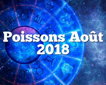 Poissons Août 2018