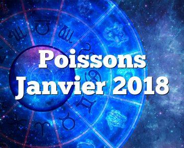 Poissons Janvier 2018