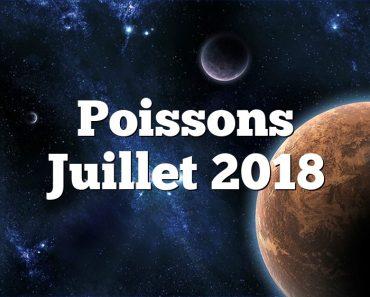 Poissons Juillet 2018