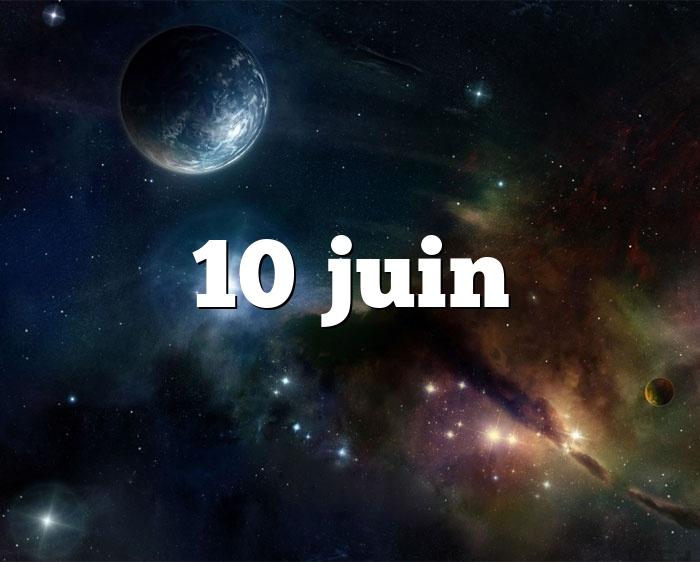 10 juin