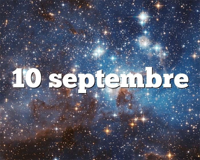 10 septembre
