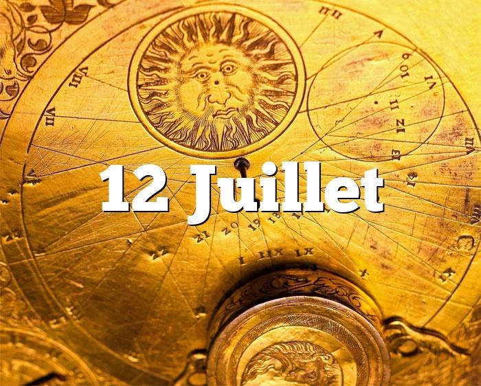 12 Juillet