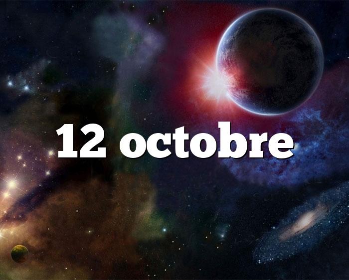 12 octobre