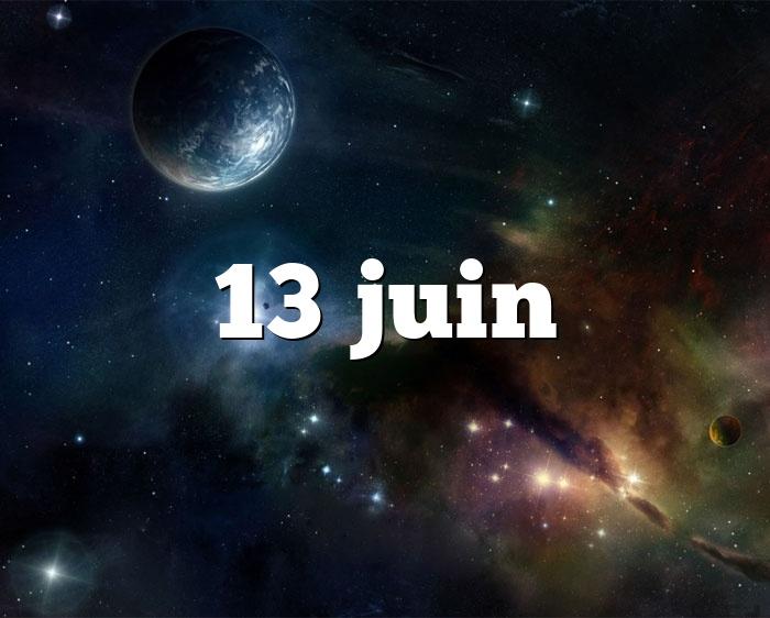 13 juin