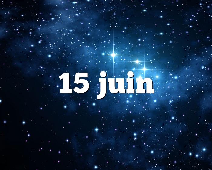 15 juin