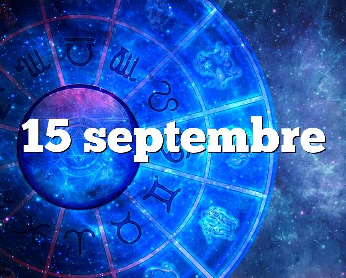 15 septembre