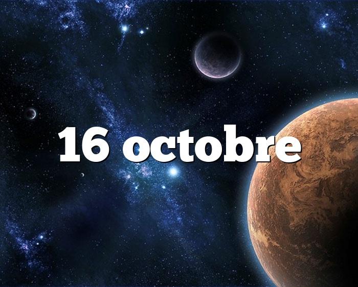 16 octobre