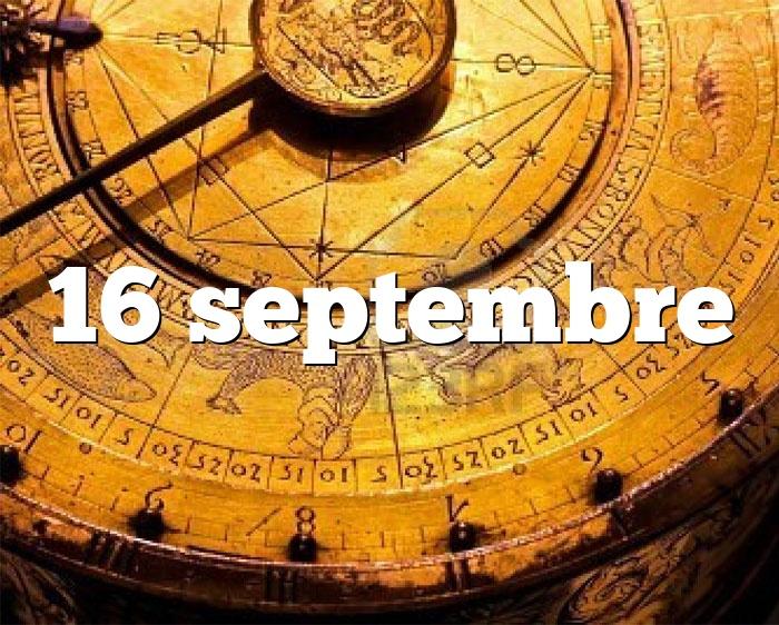 16 septembre