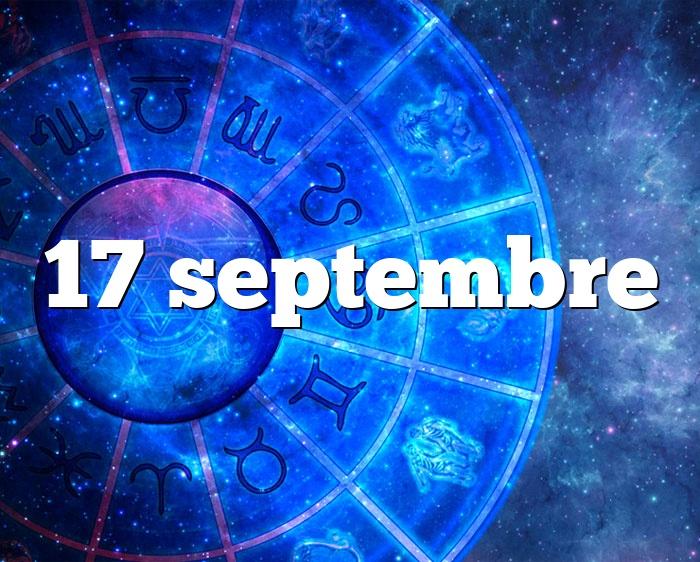 17 septembre