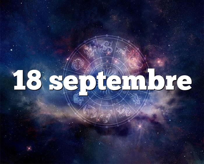 18 septembre