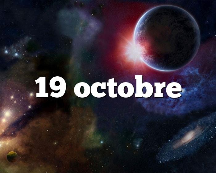 19 octobre