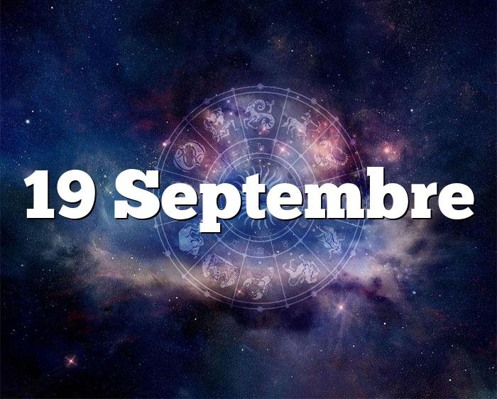 19 Septembre