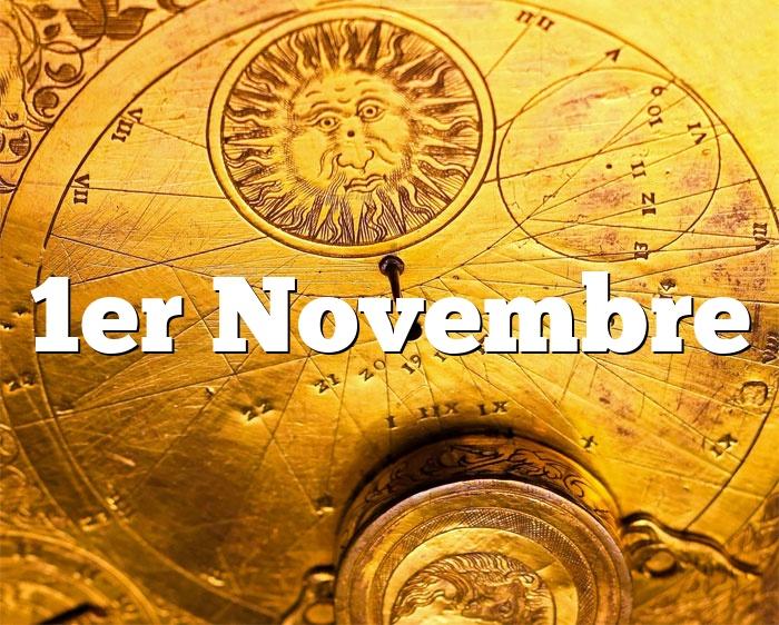 1er Novembre