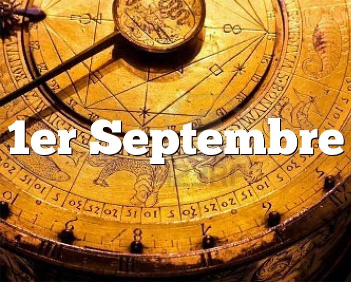 1er Septembre