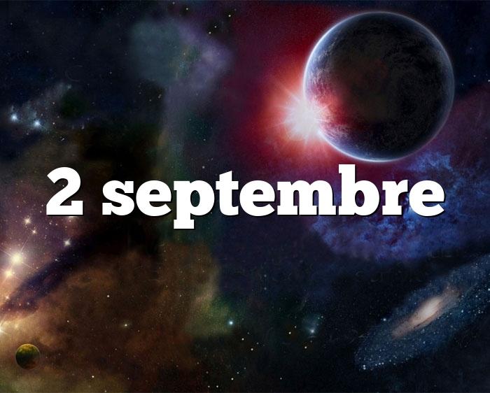 2 septembre