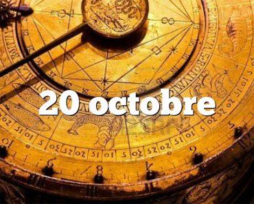 20 octobre