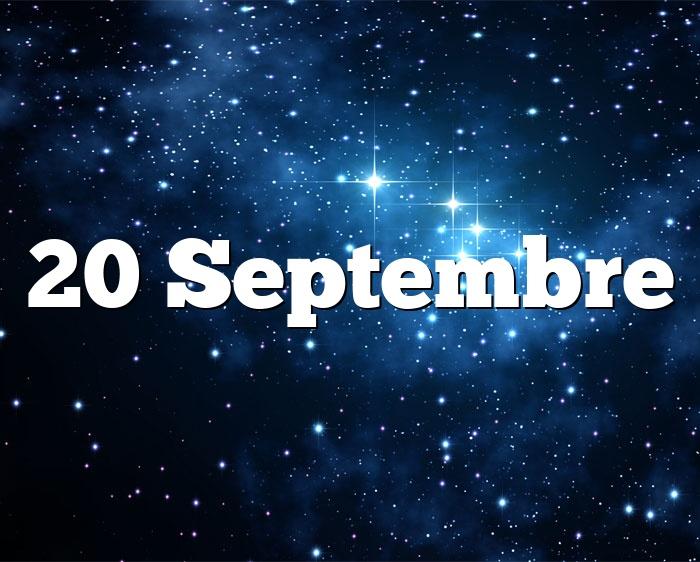 20 Septembre